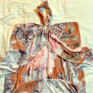 ASOS MATERNITY NWT OTS floral midi dress